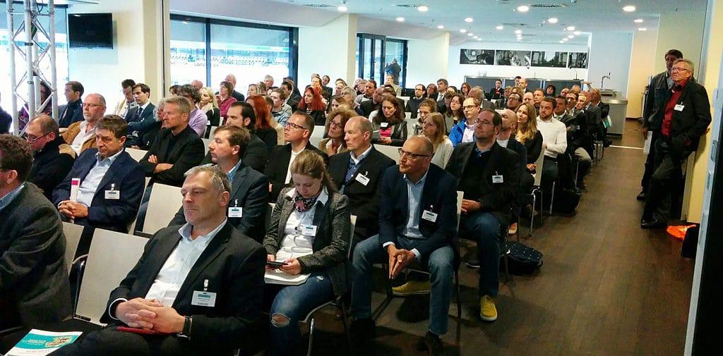 Das Publikum beim Vortrag über Chancen und Grenzen von Google AdWords