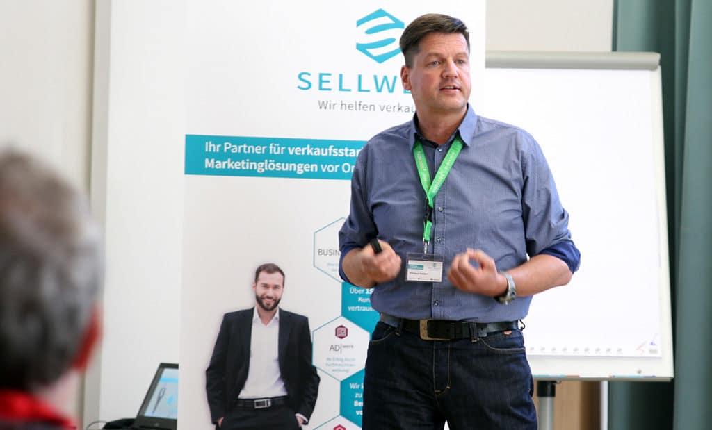 Nikolaus Herbert spricht bei SELLWERK Select