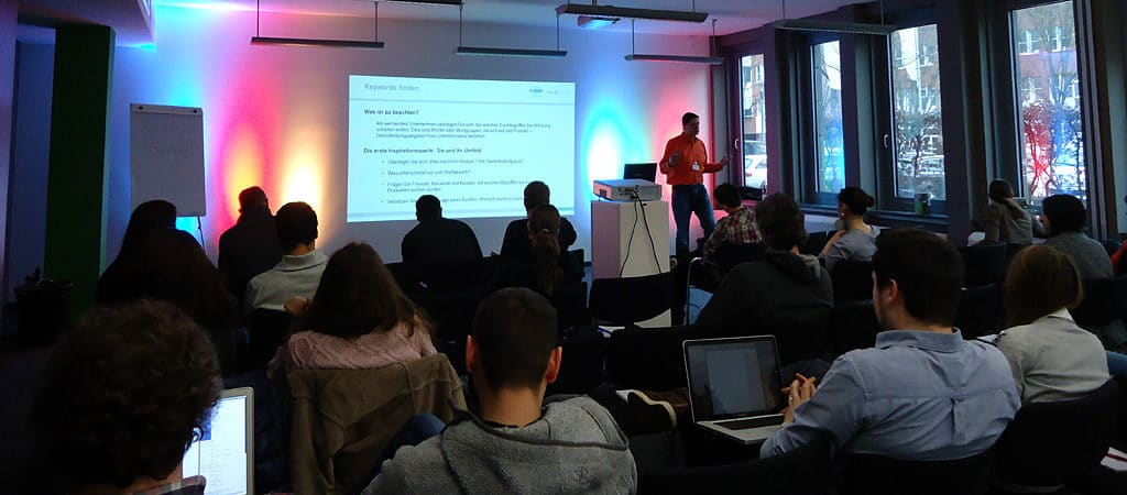 Google Partner Academy-Trainer Nikolaus Herbert im K-LAN Düsseldorf